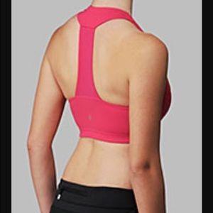 Lululemon pink scoop neck racerback bra